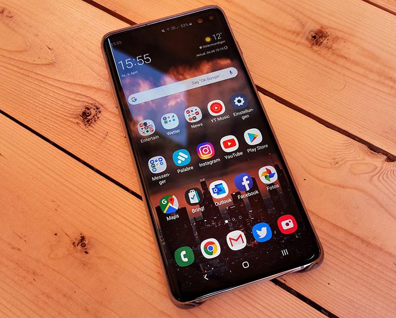 size 40 f942c 3d49b Samsung Galaxy S10+ Test | Preisvergleich von comparis.ch
