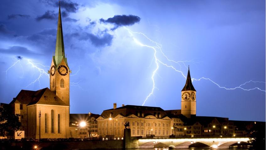 Blitzschutz Vermeidet Schaden